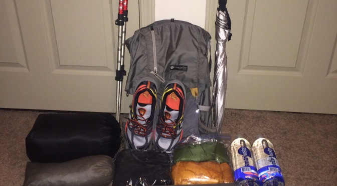 Colorado Trail Thru Hike Gear List