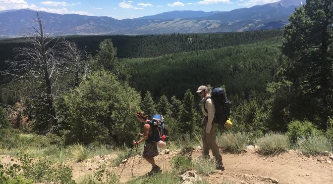 Day 15. Hiker Huddle.
