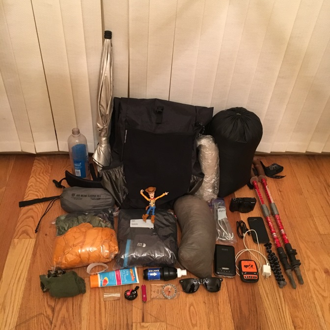 Continental Divide Trail Gear List and Food